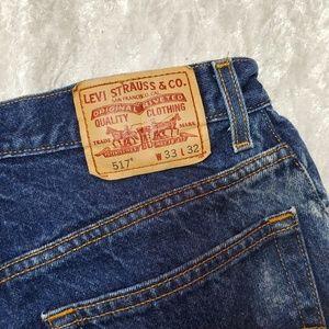 Jeans - Levi's 517 boot cut jeans